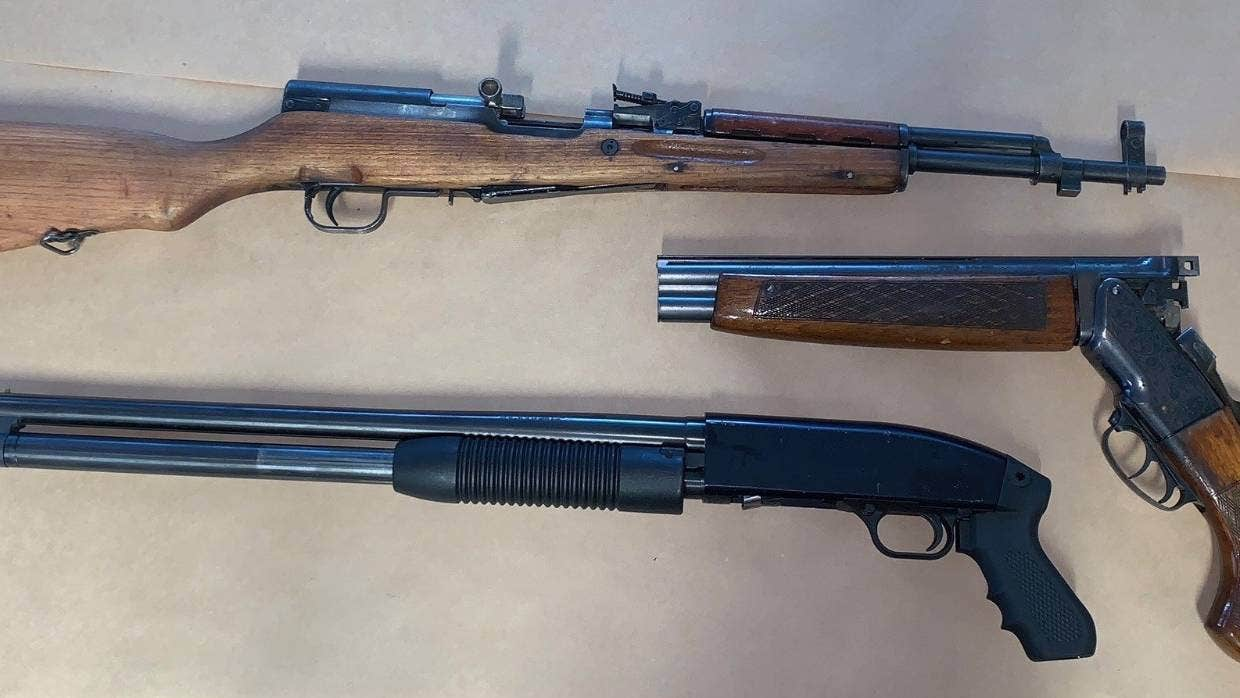 Guns seized in south Auckland